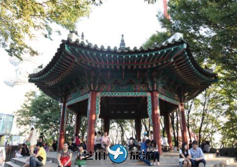 南山村站街_韩国自由行韩国首尔南山八角亭-芝麻旅行网韩国站