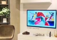 韩国LG电子在香港家具卖场推广GX Gallery电视